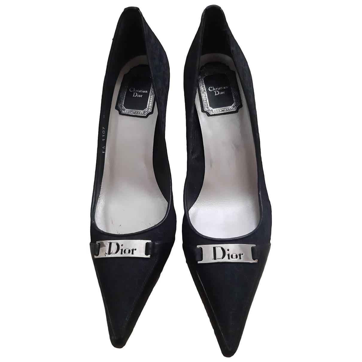 Tacones de Lona Dior