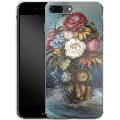Apple iPhone 7 Plus Silikon Handyhuelle - Hopeless Romantic von Dan May