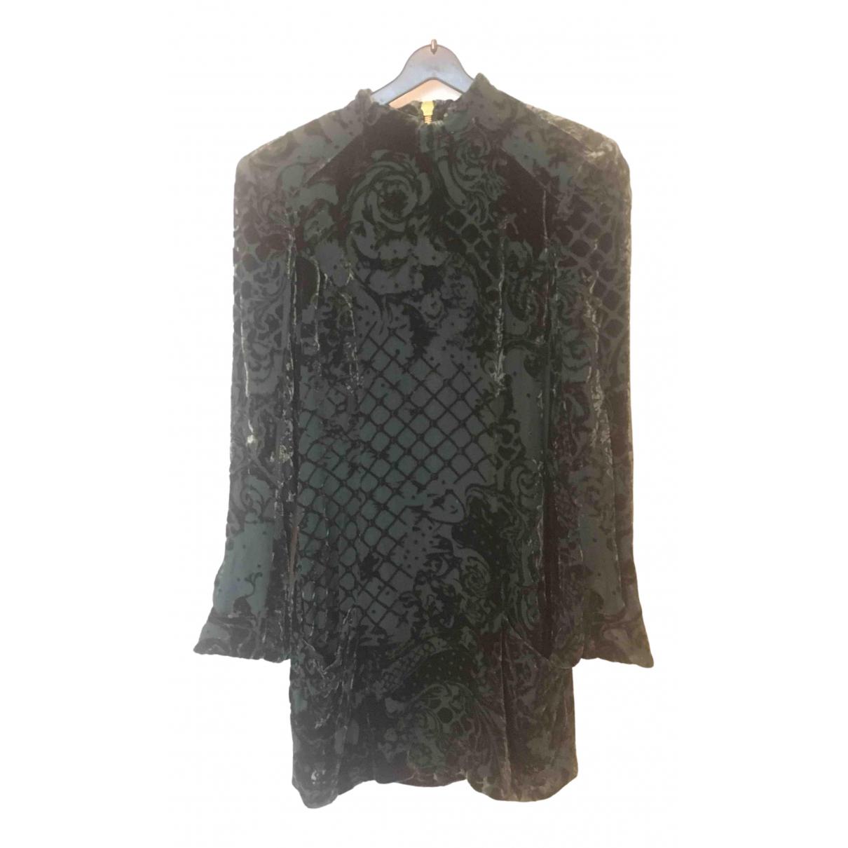 Balmain For H&m - Robe   pour femme - vert