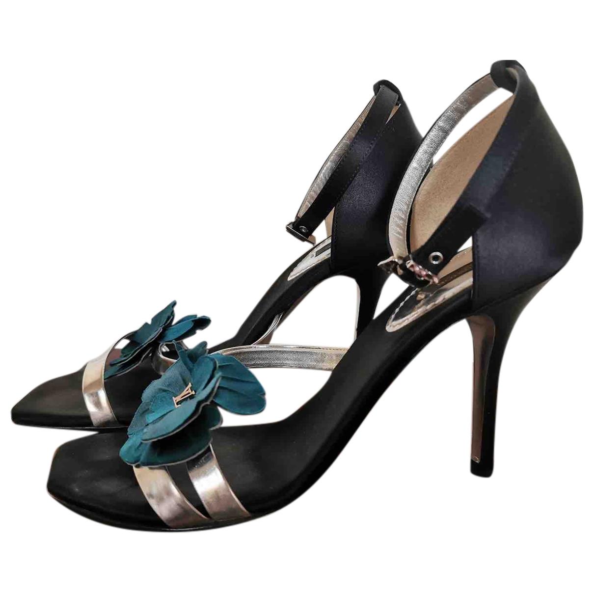 Louis Vuitton - Sandales   pour femme en cuir verni - multicolore