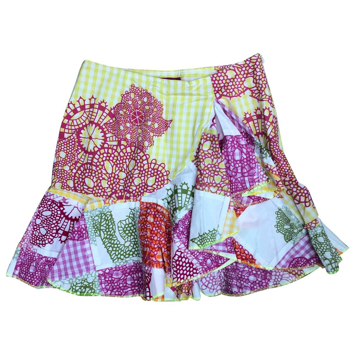 Matthew Williamson N Multicolour Silk skirt for Women 10 UK