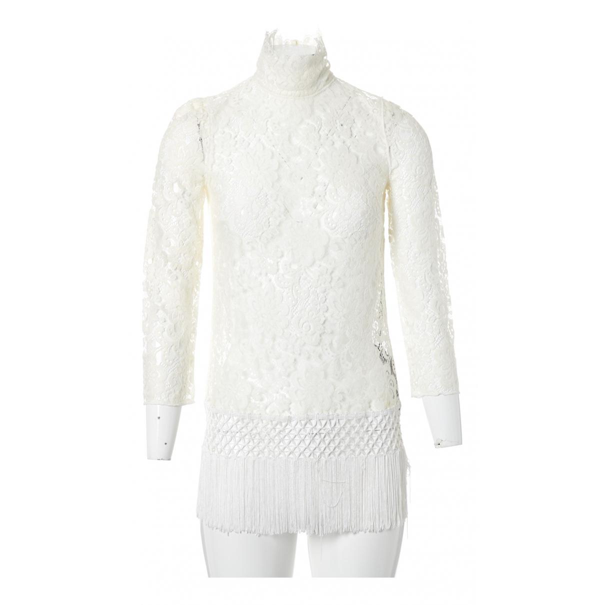 Dolce & Gabbana - Top   pour femme - ecru