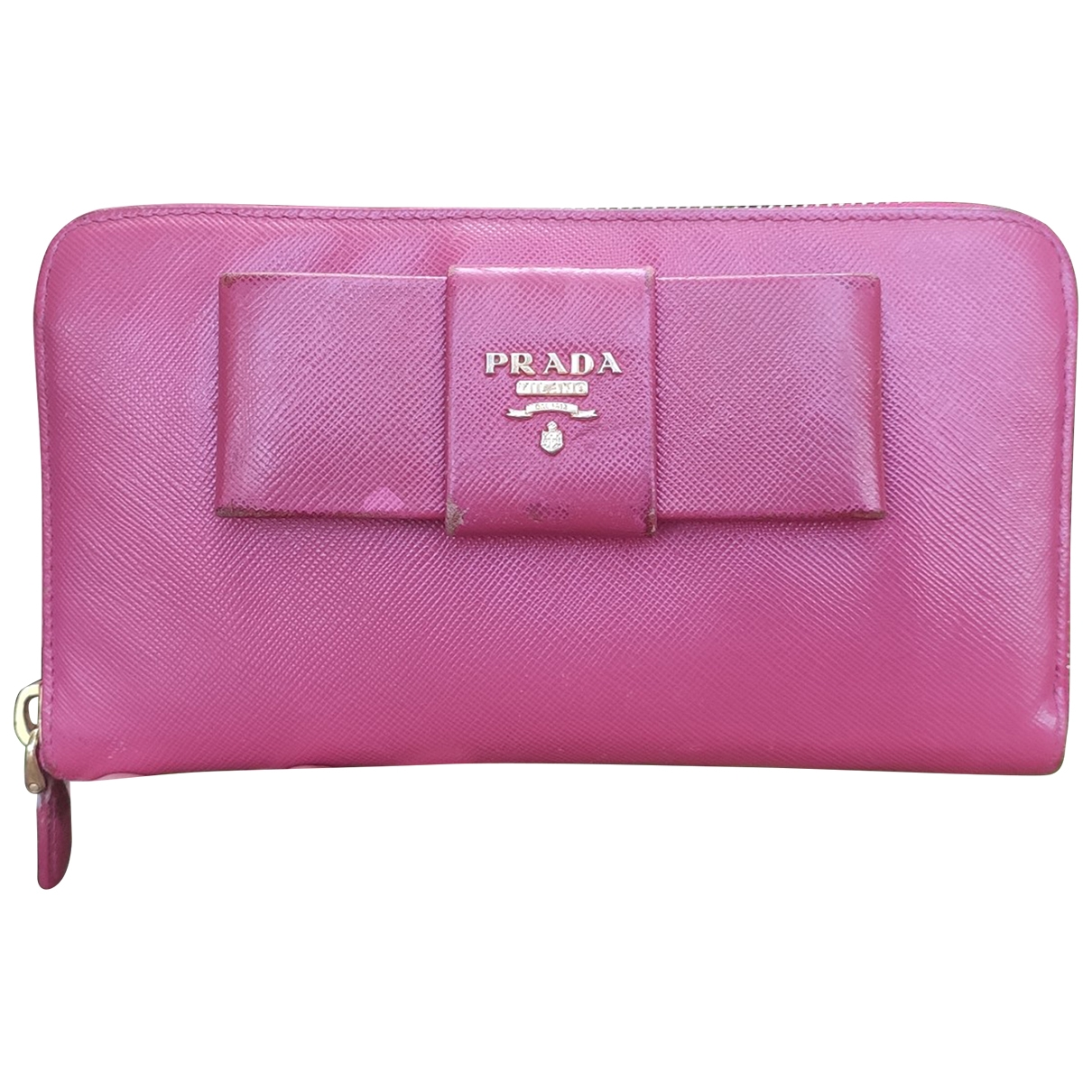 Prada \N Pink Leather wallet for Women \N