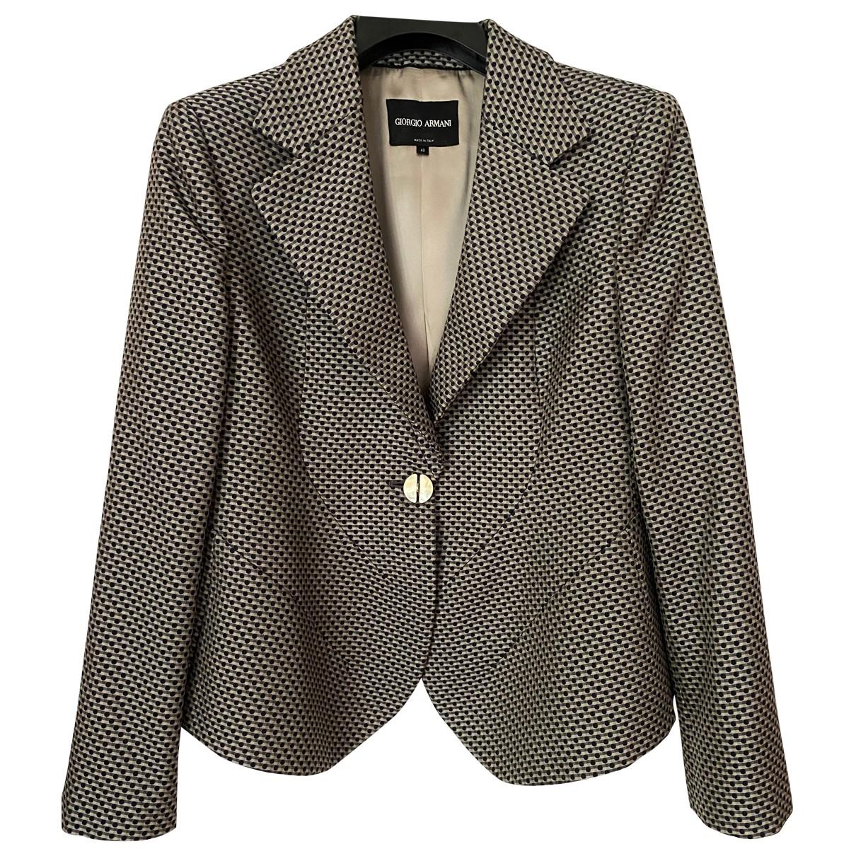 Giorgio Armani \N Jacke in  Bunt Wolle