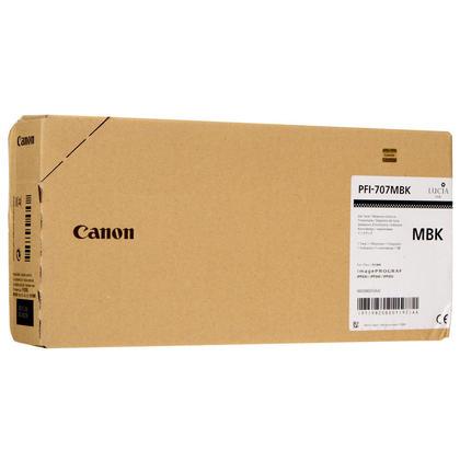 Canon PFI-707MBK 9820B001 Original Pigment Matte Black Ink Cartridge