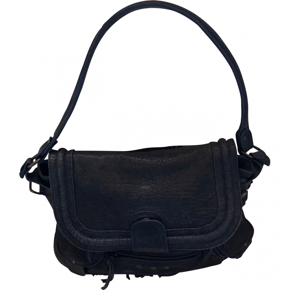 Jerome Dreyfuss \N Navy Leather handbag for Women \N