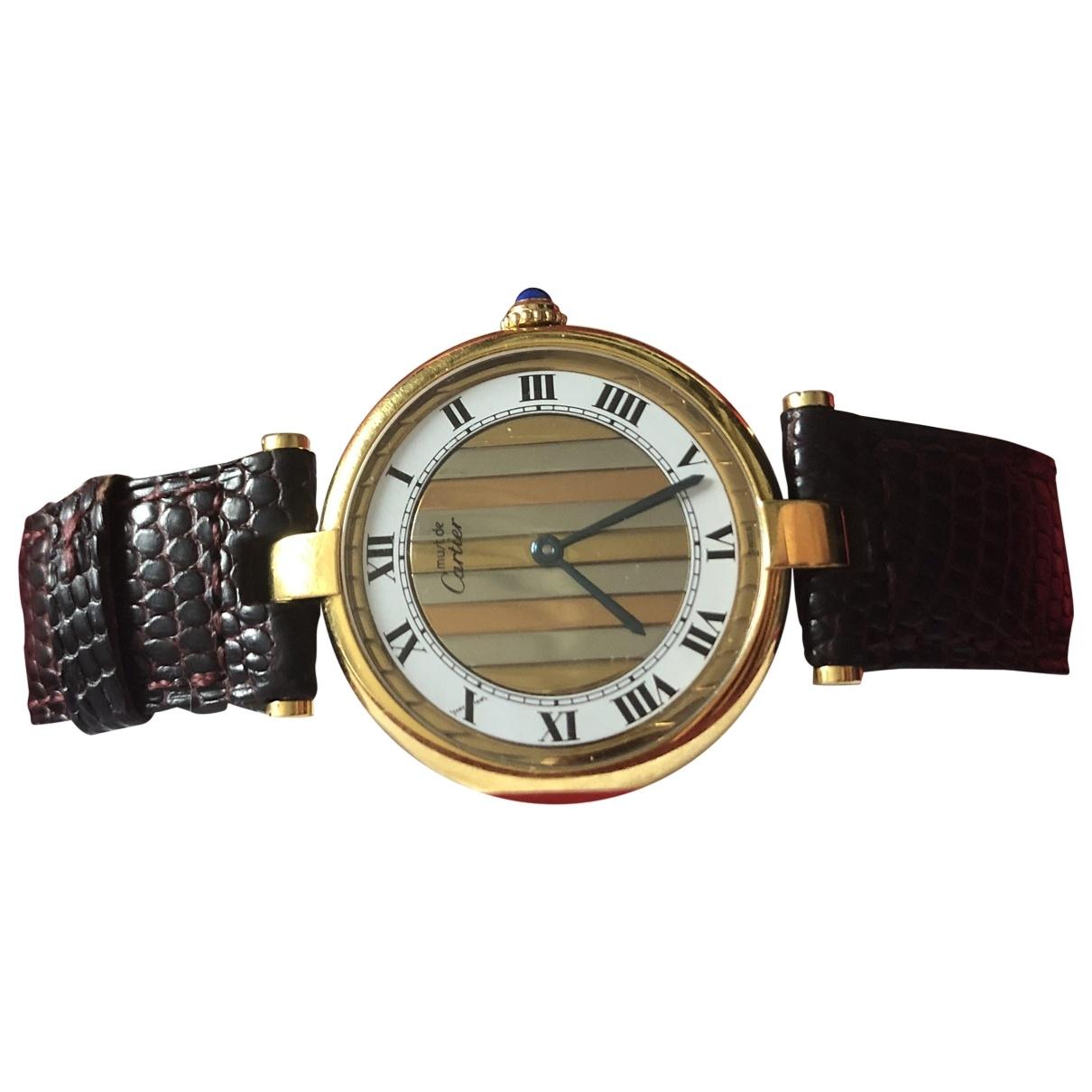 Reloj Must Trinity de Bermellon Cartier