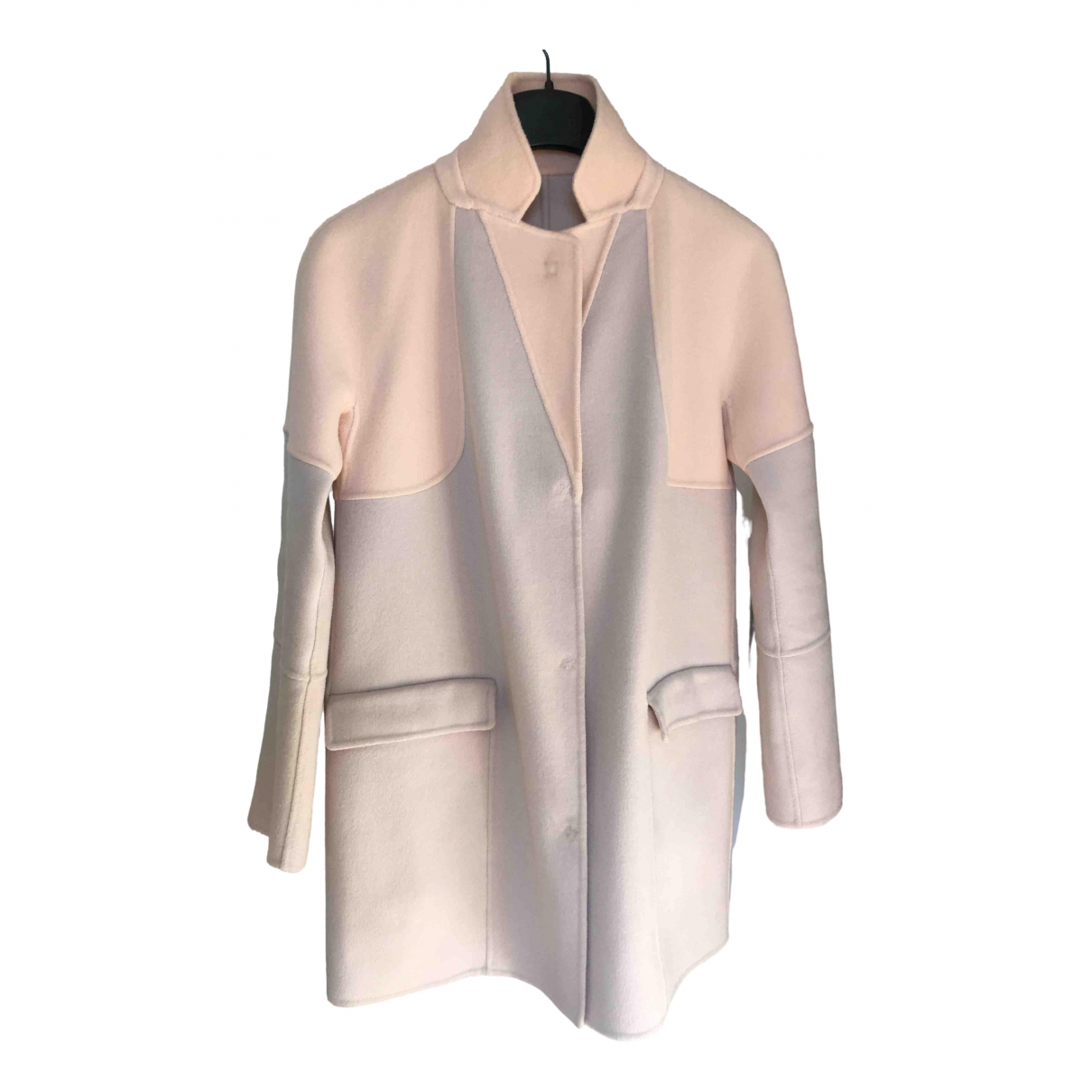 Max & Co \N Pink Wool coat for Women 40 IT