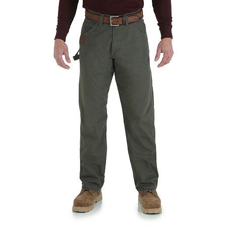 Wrangler/Riggs Workwear Carpenter Jeans, 32 36, Green