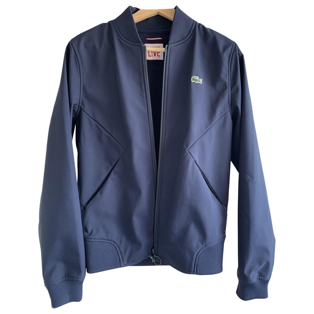 Lacoste Live \N Blue Cotton jacket for Women 46 IT