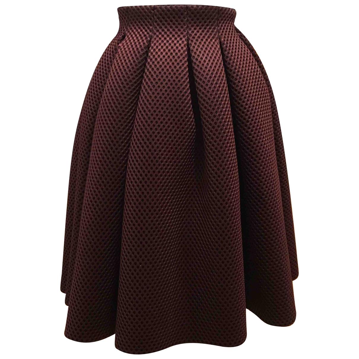 Maje - Jupe   pour femme en coton - violet