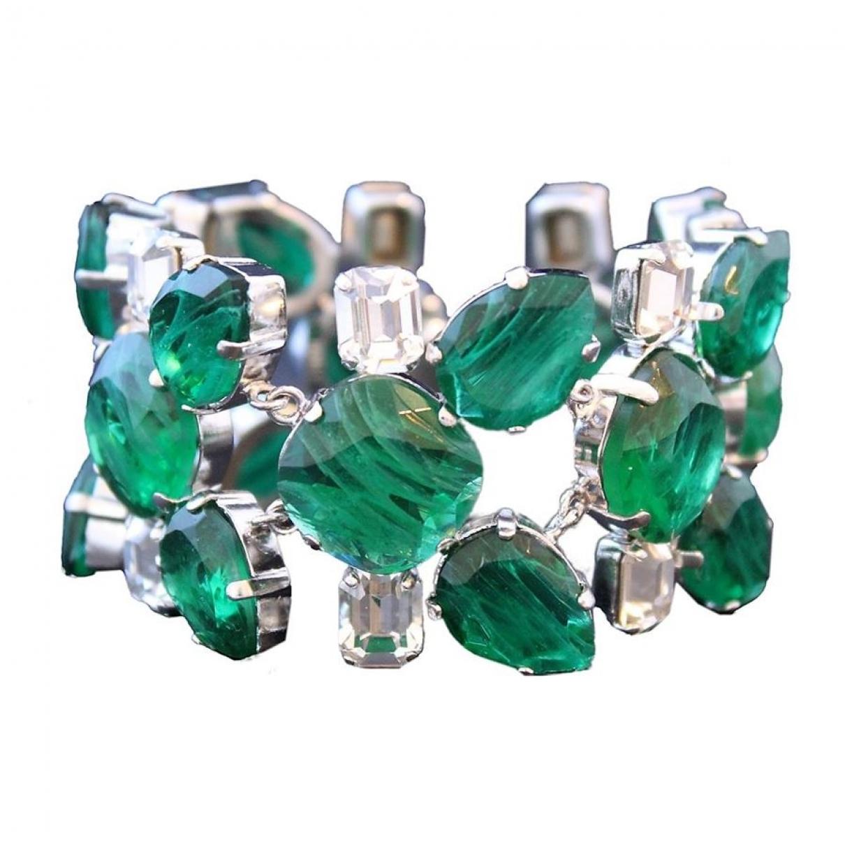 Carlo Zini - Bracelet   pour femme en metal - vert