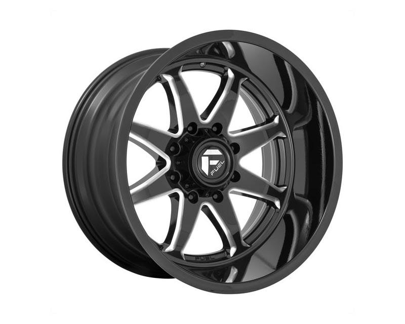 Fuel D749 Hammer Wheel 20x10 6x139.7 -18 Gloss Black Milled