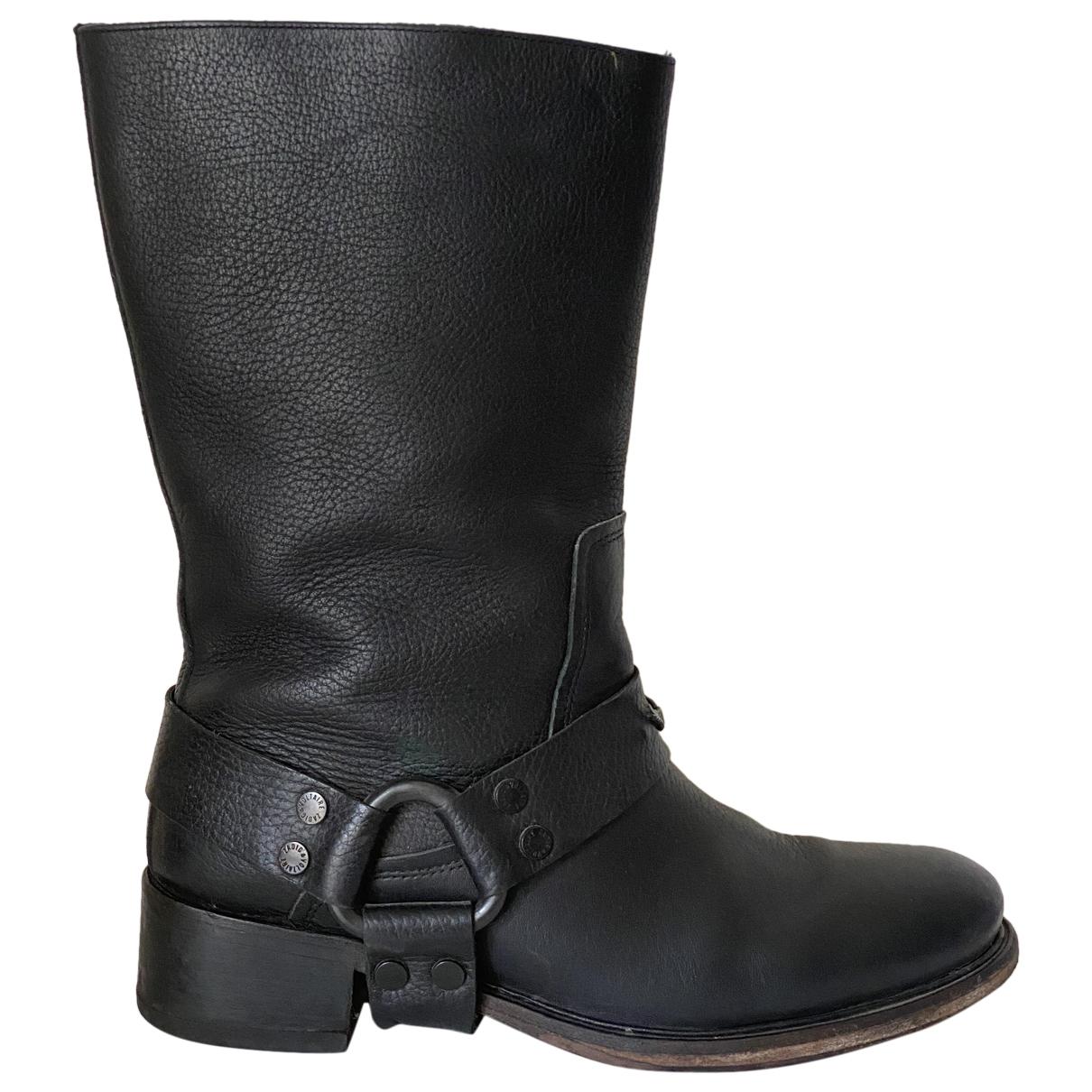 Zadig & Voltaire Roady Stiefel in  Schwarz Leder