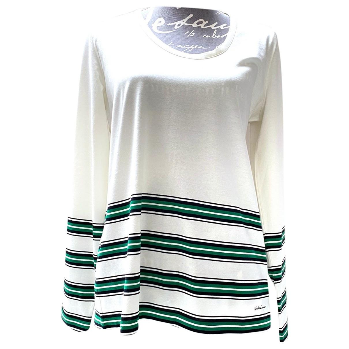 Salvatore Ferragamo \N White Cotton  top for Women L International