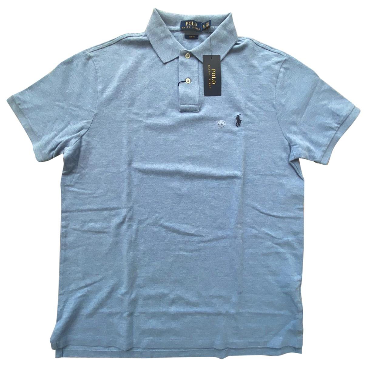 Polo Ralph Lauren - Polos Polo ajuste manches courtes pour homme en coton - bleu