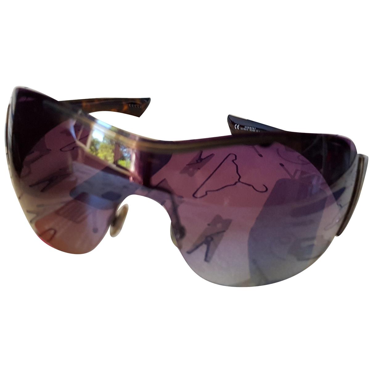 Gucci \N Sonnenbrillen in  Schwarz Kunststoff