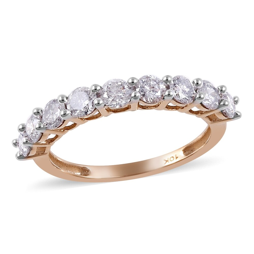 Yellow Gold Rhodium Over Diamond Ring Ct 1 (Ring 6)