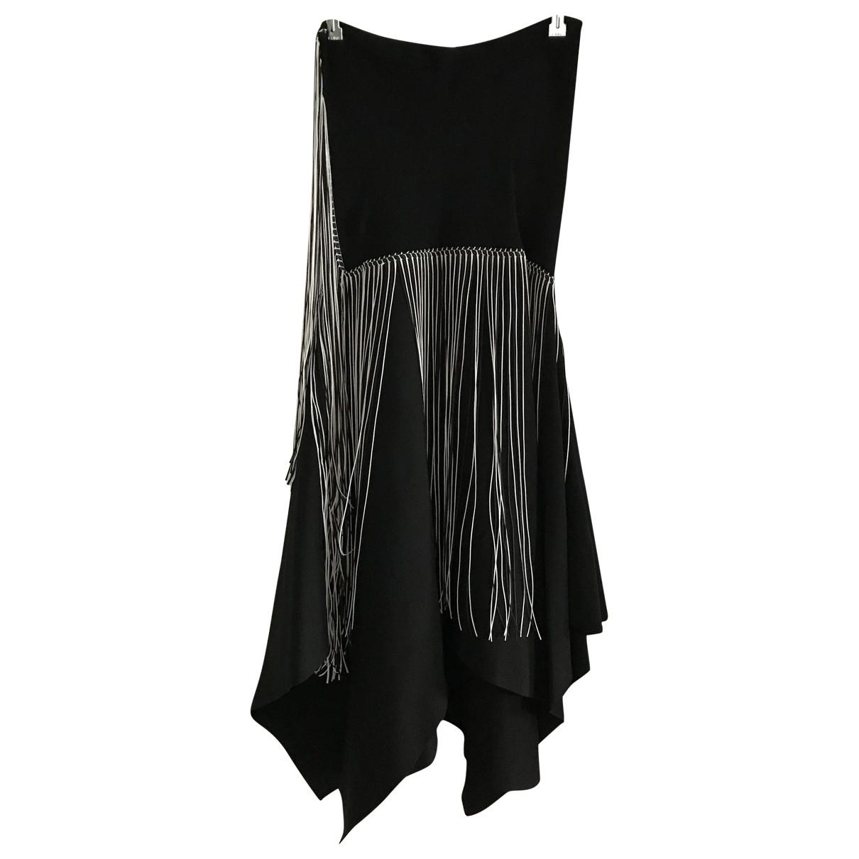 Zara \N Multicolour Cotton - elasthane skirt for Women L International