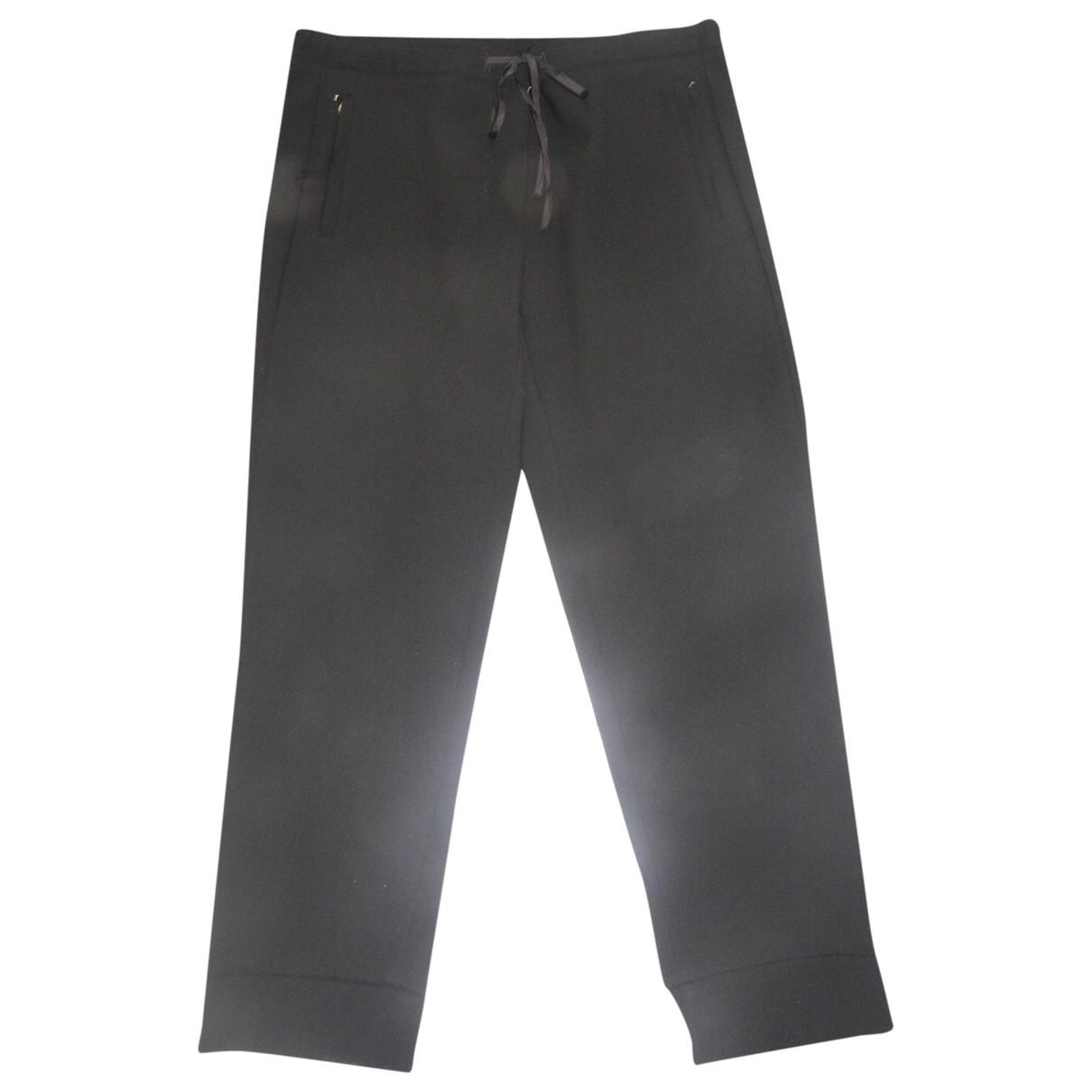Max Mara 's \N Black Trousers for Women 42 IT