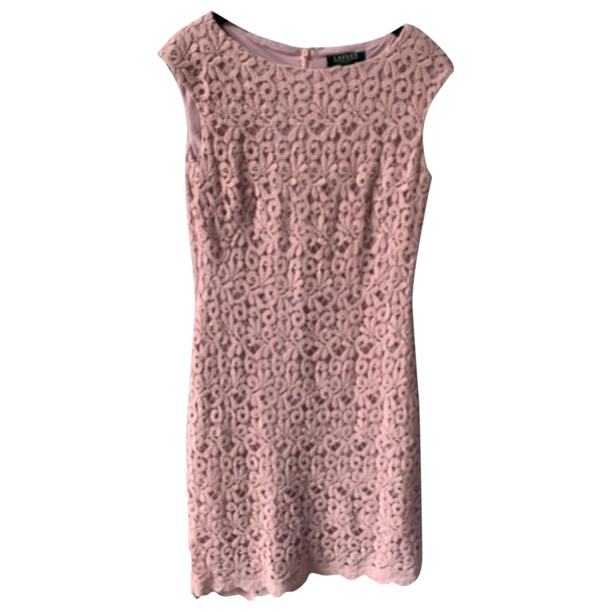 Lauren Ralph Lauren \N Kleid in  Rosa Baumwolle - Elasthan