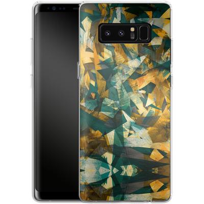 Samsung Galaxy Note 8 Silikon Handyhuelle - Raw Texture von Danny Ivan