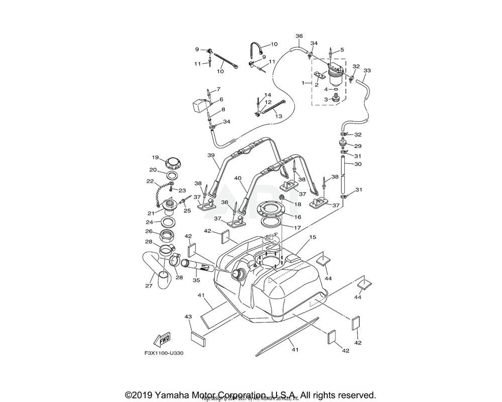 Yamaha OEM 70R-24489-00-00 O-RING