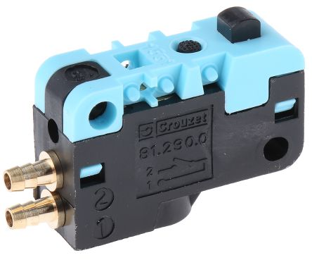 Crouzet Plunger 3/2 Pneumatic Manual Control Valve 81 Series
