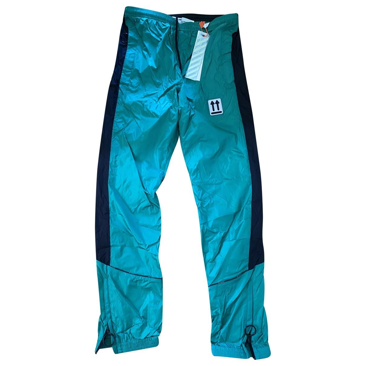 Off-white \N Green Trousers for Men M International