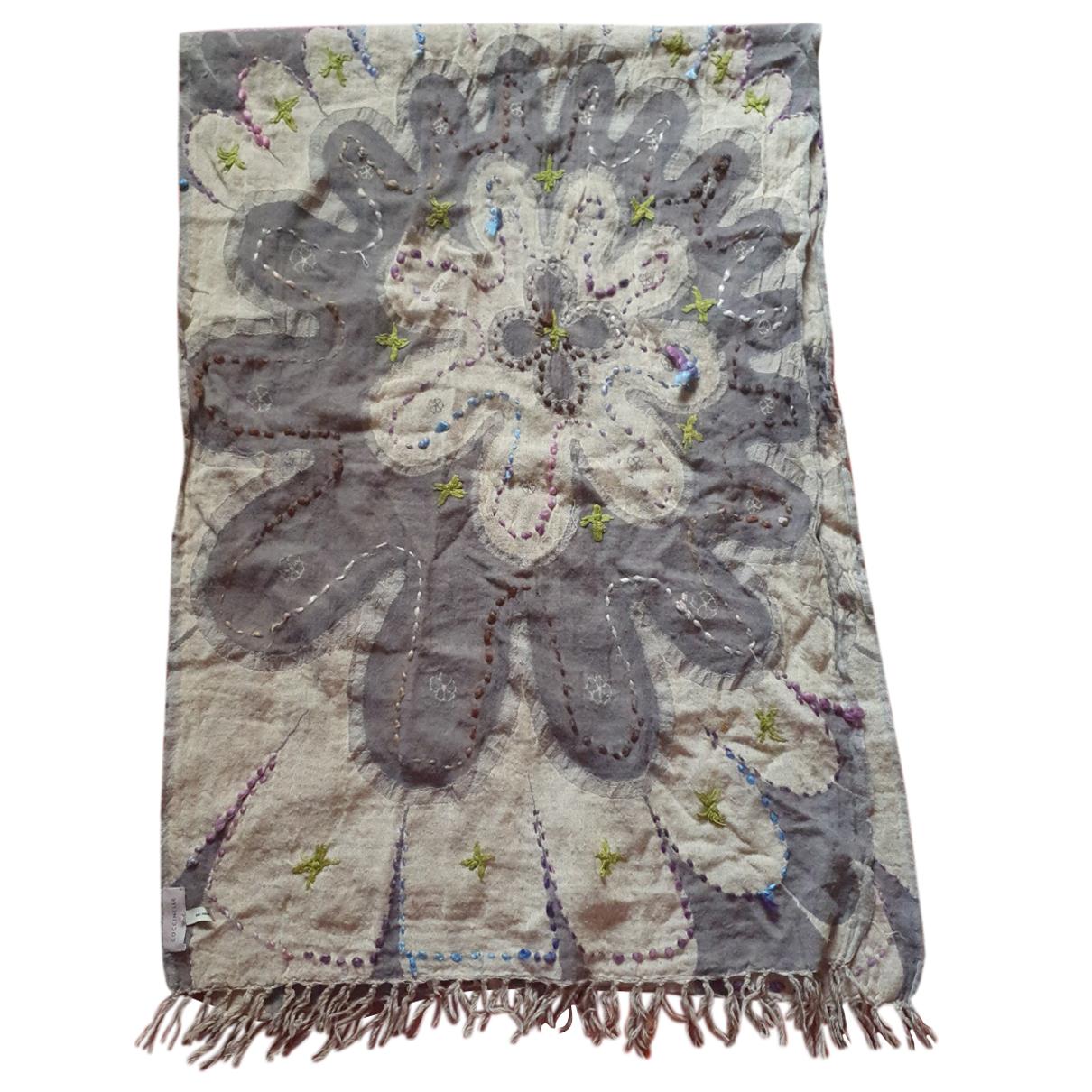 Coccinelle N Beige Wool scarf for Women N