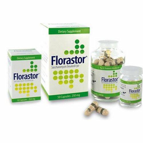 Probiotic Dietary Supplement Florastor 50 per Bottle Capsule 50 Count by Florastor