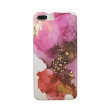 1pc Marble Pattern iPhone Case