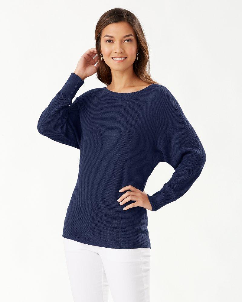 Bonita Dolman Boatneck Sweater