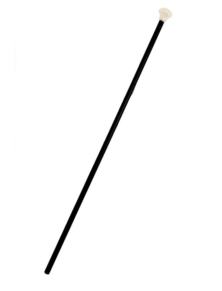 Kostuemzubehor Kavalierstock schwarz 80cm
