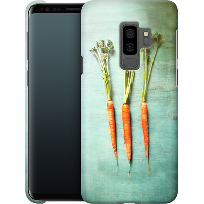 Samsung Galaxy S9 Plus Smartphone Huelle - Three Carrots von Joy StClaire