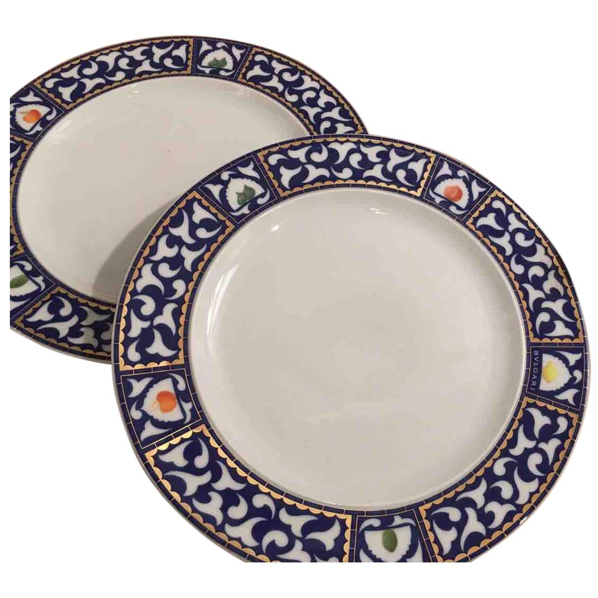 Platos de Porcelana Bvlgari