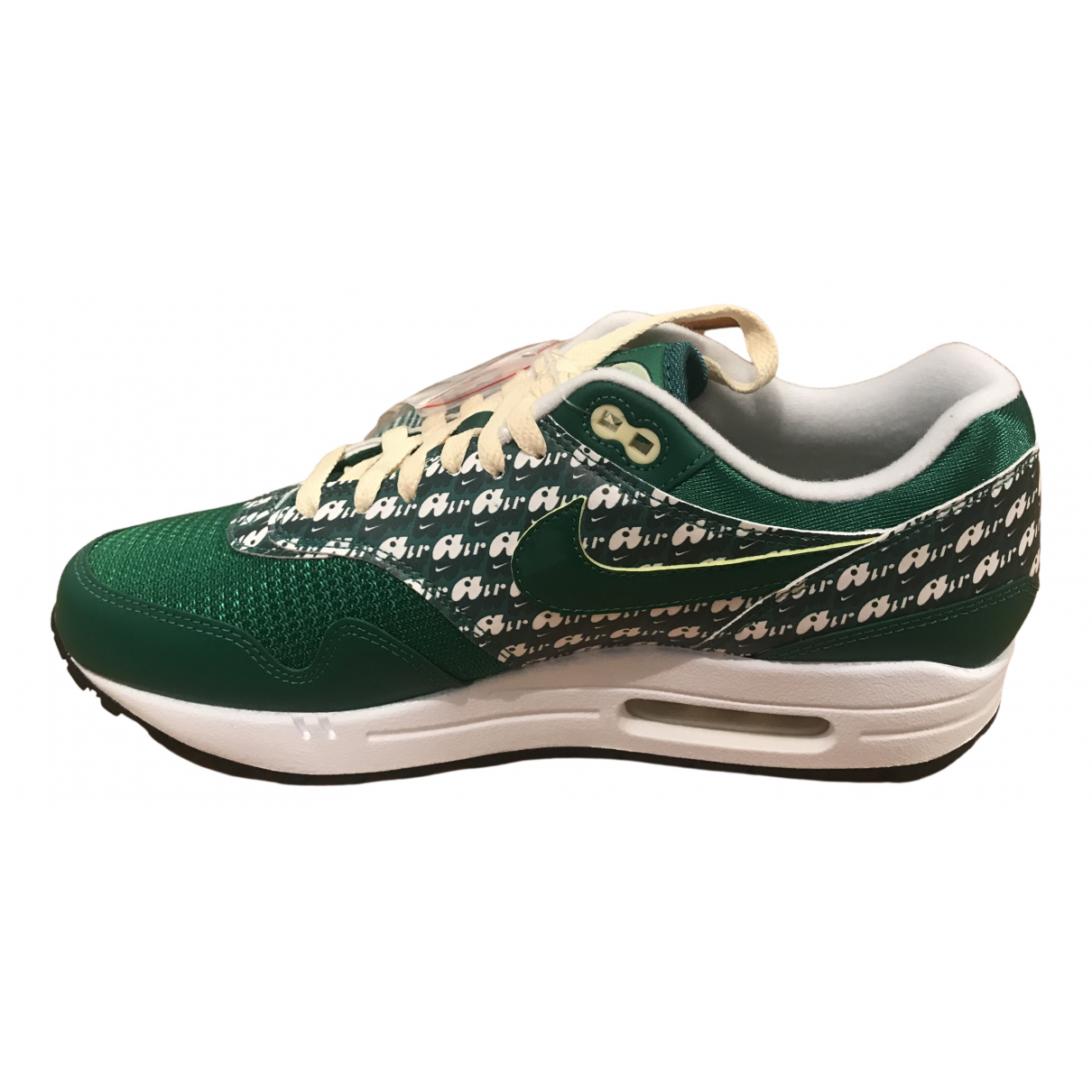 Nike Air Max 1 Green Leather Trainers for Men 42.5 EU
