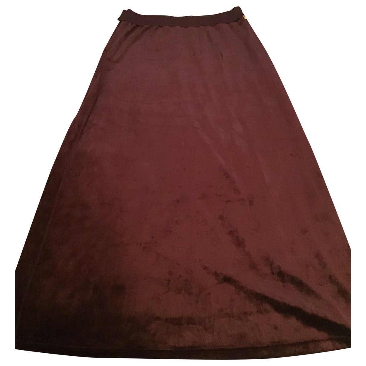 Sonia Rykiel \N Brown Velvet skirt for Women 38 FR