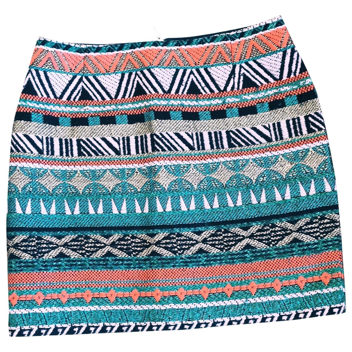 Sessun - Jupe   pour femme en laine - multicolore