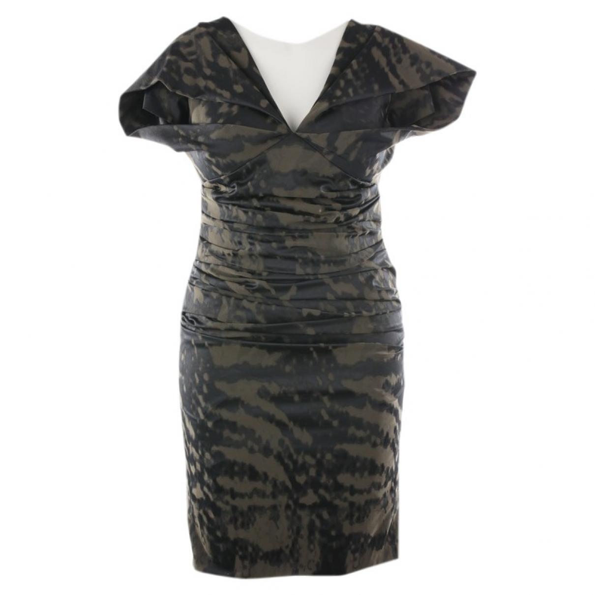 Talbot Runhof \N Kleid in  Gruen Polyester