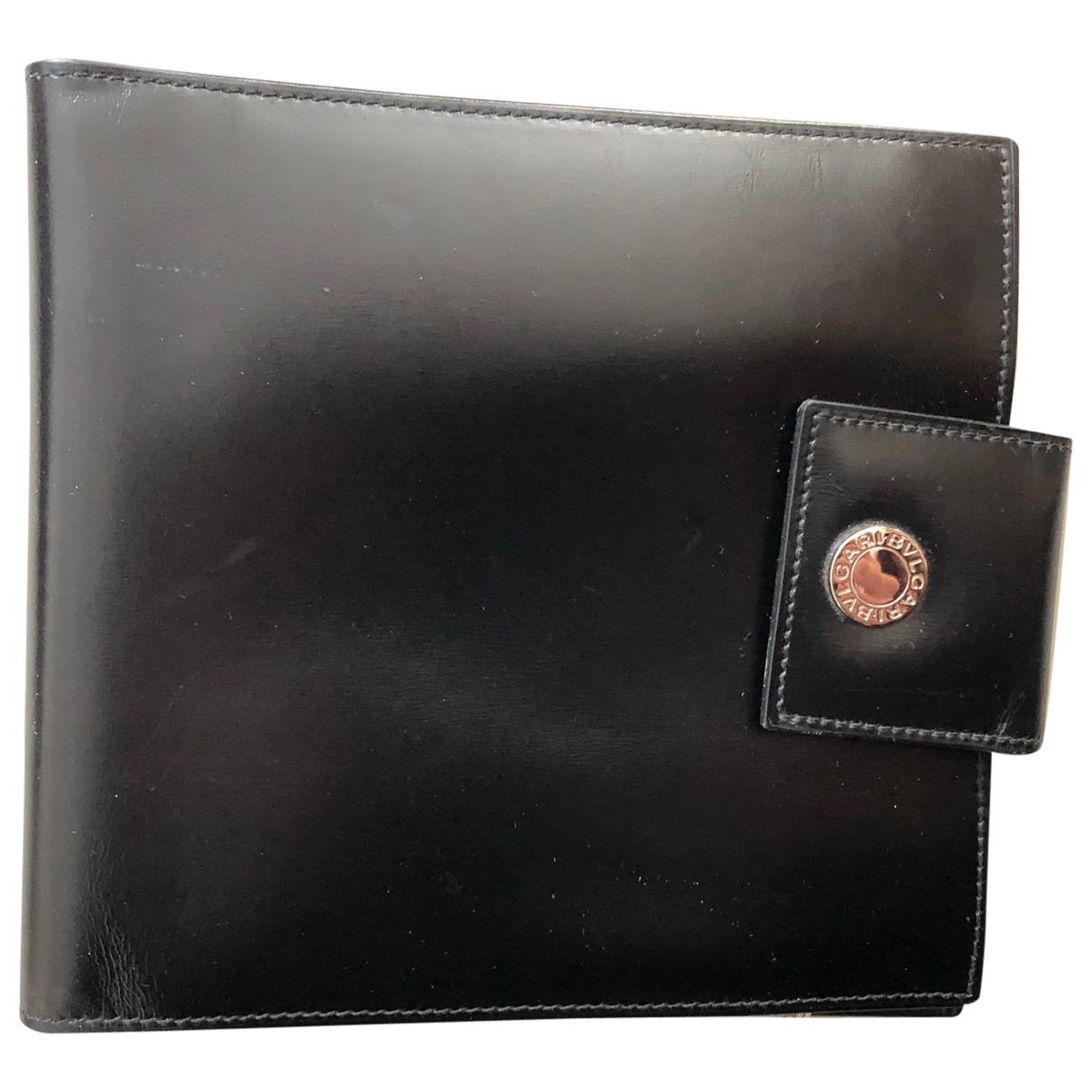 Bvlgari \N Accessoires in  Schwarz Leder