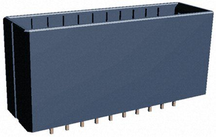 TE Connectivity , Dynamic 3000, 20 Way, 2 Row, Straight PCB Header