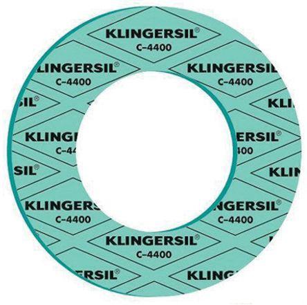 Klinger C4400 Inside Bolt Gasket Sheet, 89mm, 1.5mm Thick , -100 → +250°C