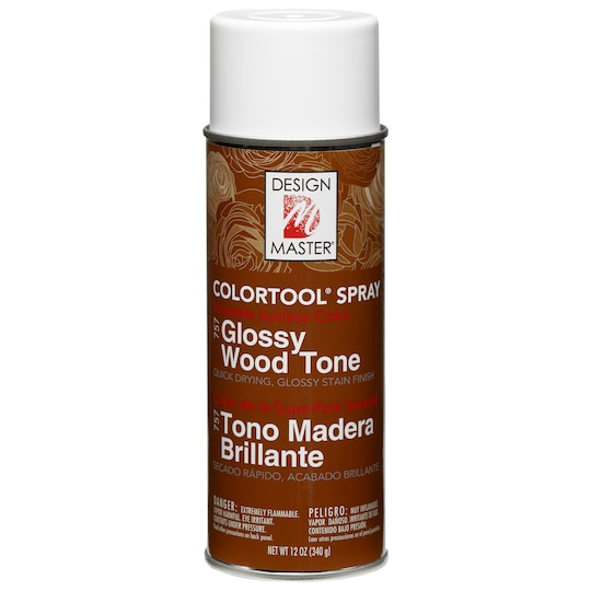 Design Master® Colortool® Spray Paint in Glossy Wood Tone | 12 oz | Michaels®
