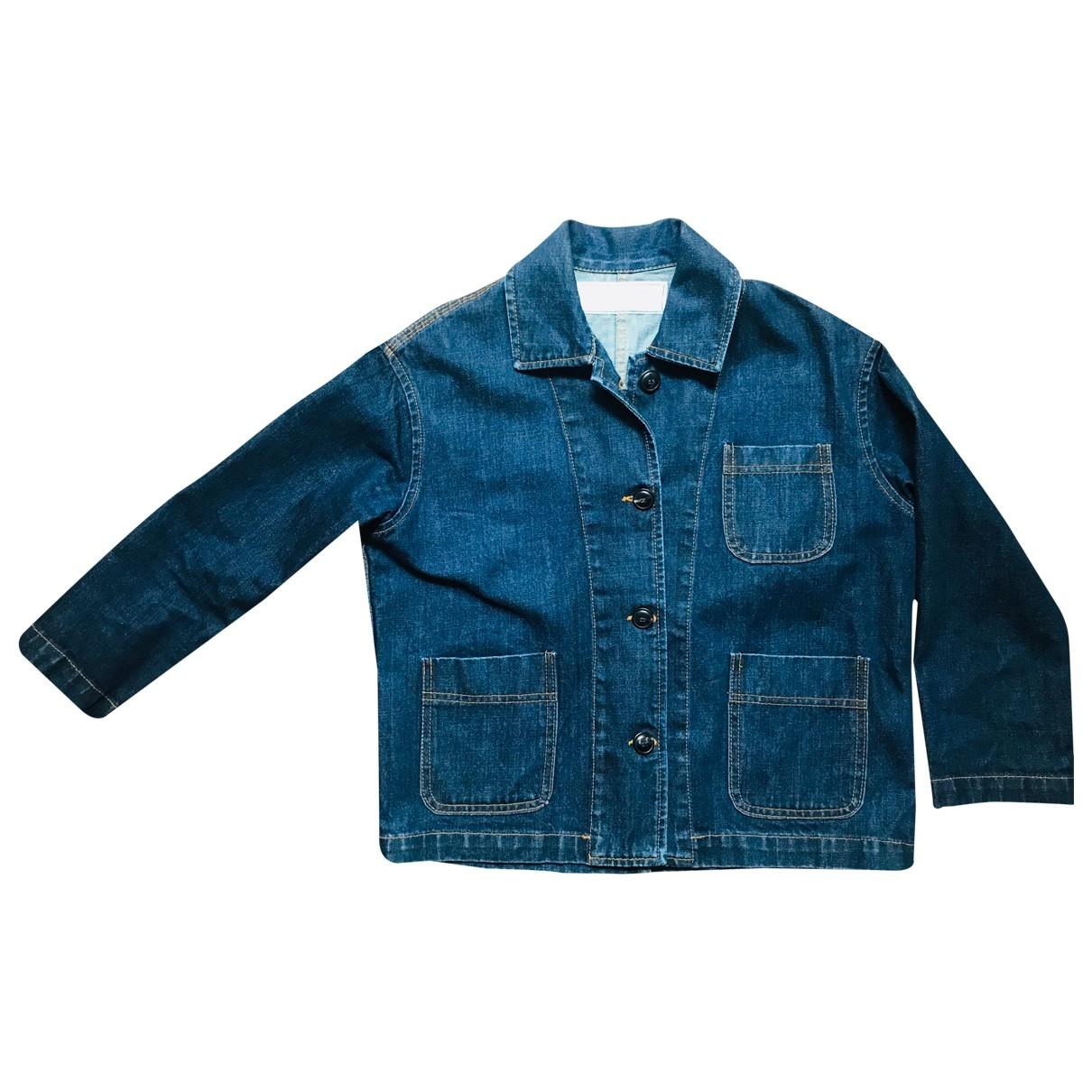 - Veste   pour femme en denim - bleu