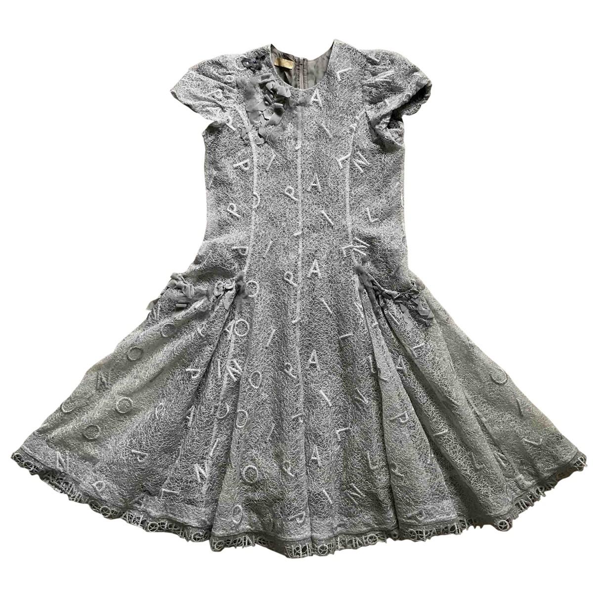 I Pinco Pallino - Robe    pour enfant - gris
