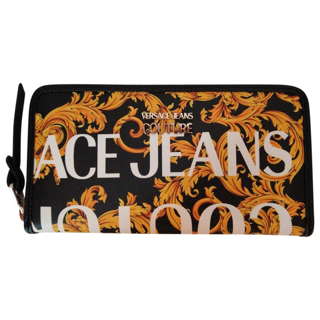 Versace Jean - Portefeuille   pour femme en toile - multicolore