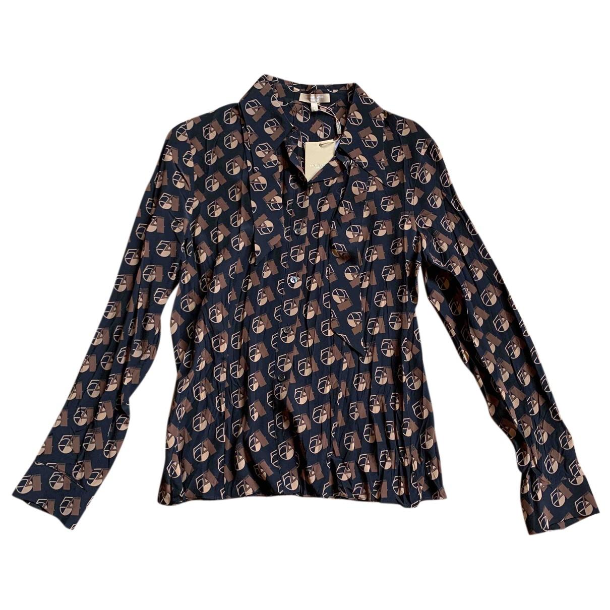 Michael Kors N Black Silk  top for Women 6 US