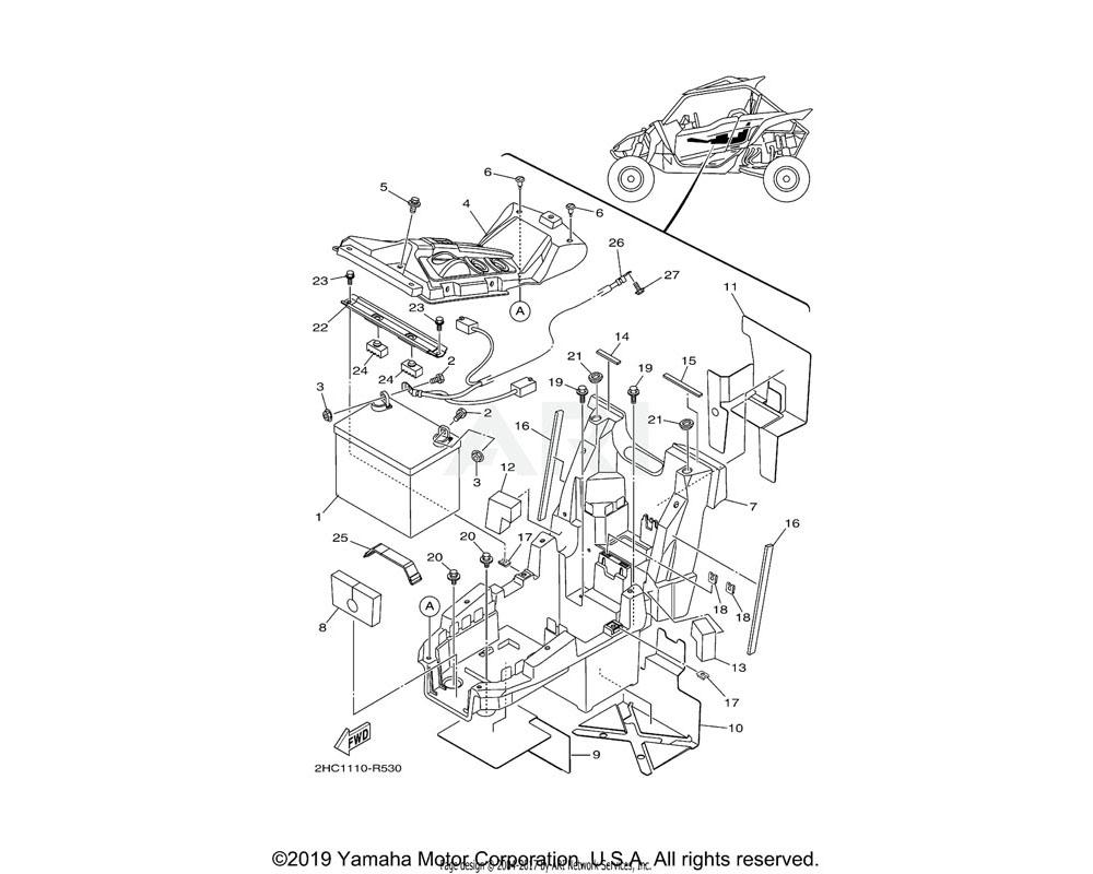 Yamaha OEM 90520-05022-00 DAMPER, PLATE