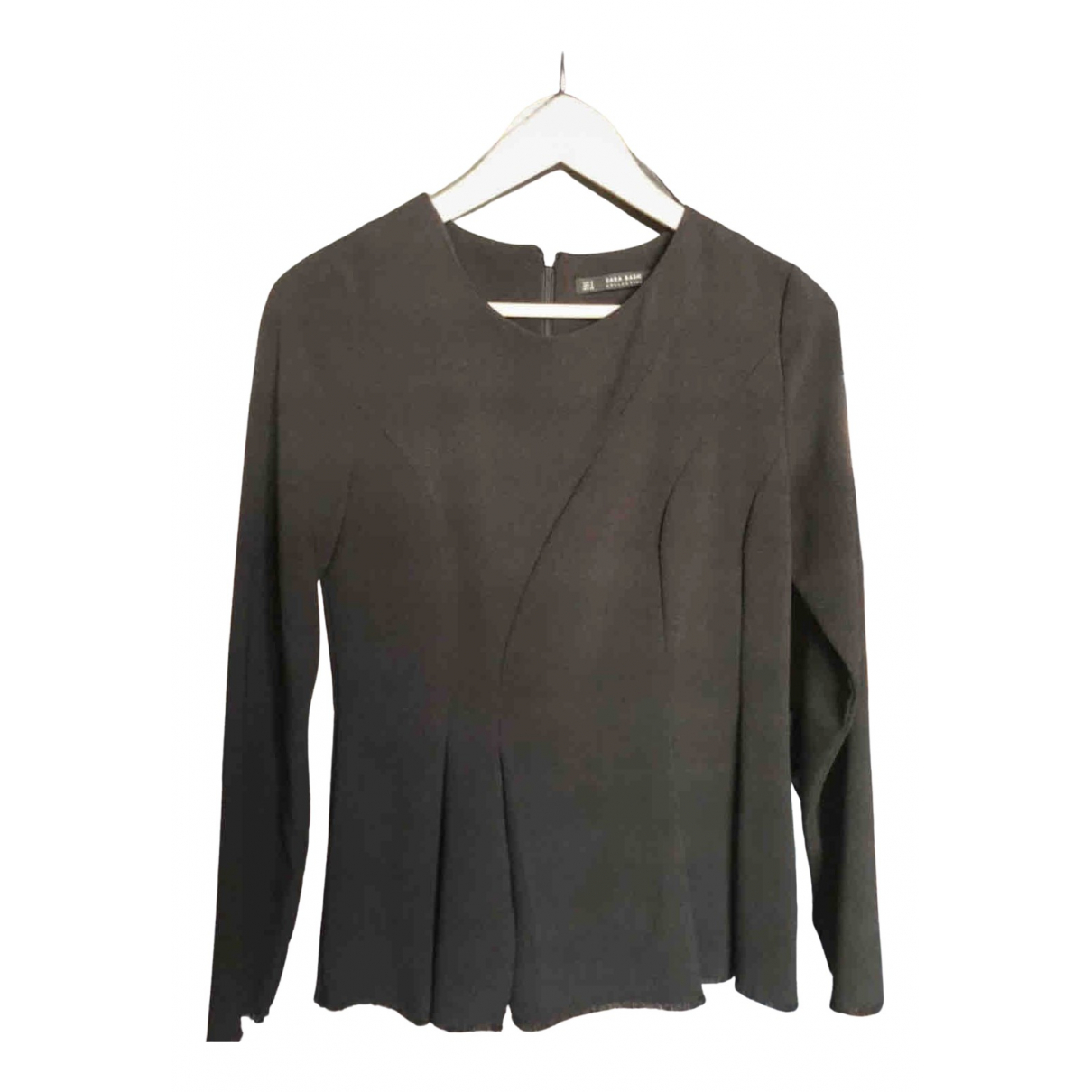 Zara \N Black  top for Women 36 FR